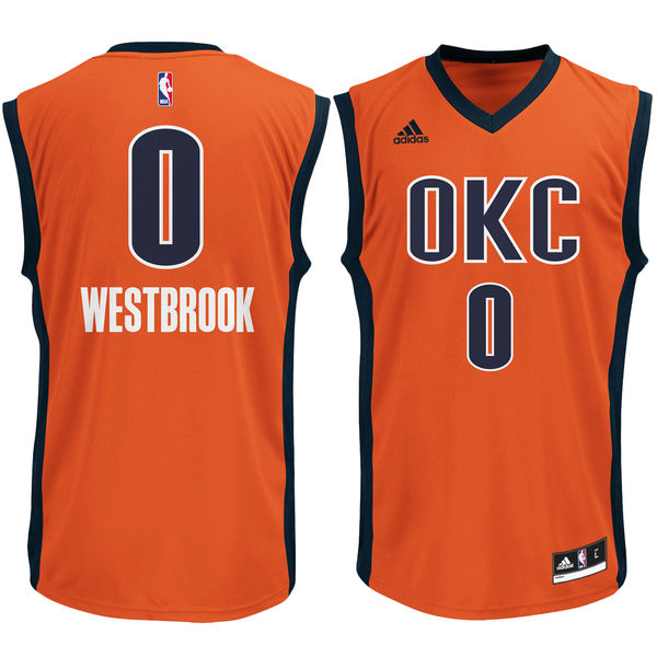 41653dcc316 Russell Westbrook - Oklahoma City Thunder - Alternate Rep. Jersey