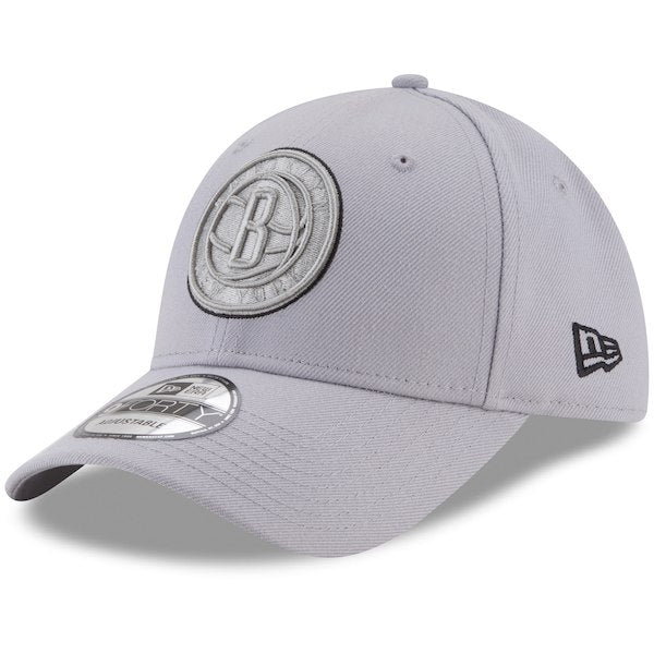 Brooklyn Nets -  Adjustable 9FORTY 'Grayed Out' New Era Hat - Jersey Kings Sydney