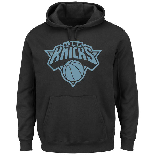 New York Knicks -- Team Pullover Hoodie (Blue)