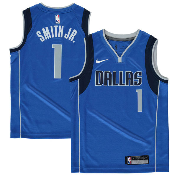 new style c8995 cbcff Dennis Smith Jr. - Dallas Mavericks - Nike NBA Youth Swingman Jersey
