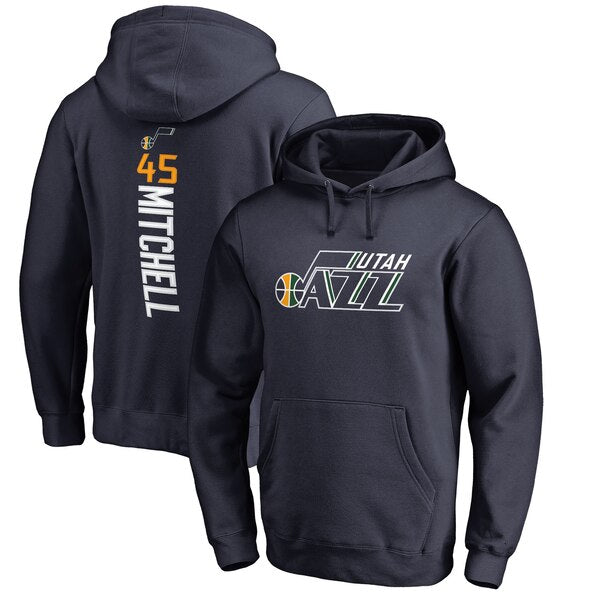 Donovan Mitchell - Utah Jazz -- Player Hoodie