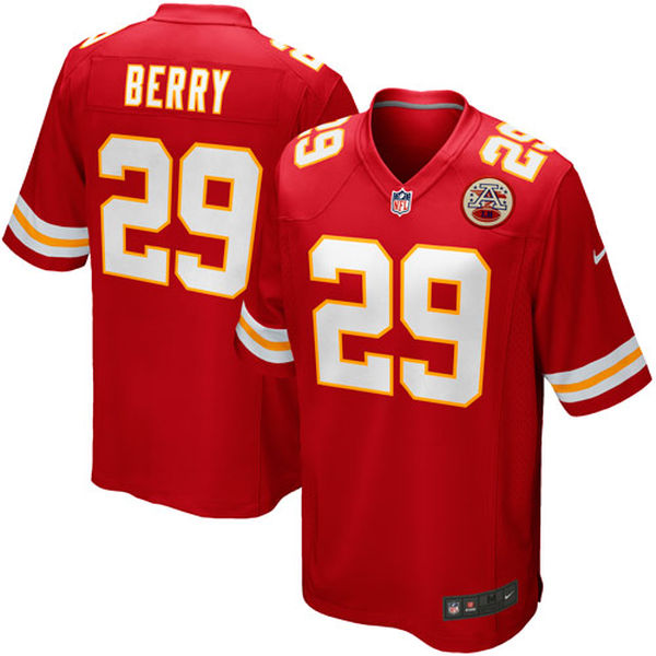 Eric Berry - Kansas City Chiefs - Game NFL Jersey