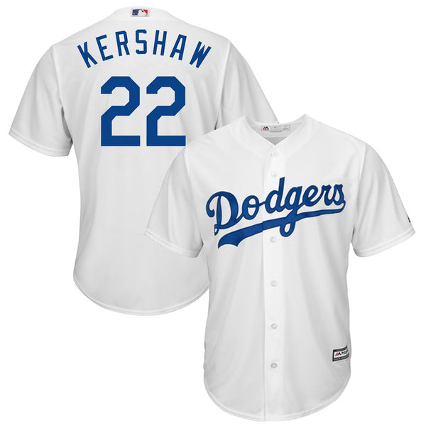 Clayton Kershaw - Los Angeles Dodgers - Cool Base Player MLB Jersey - Jersey Kings Sydney