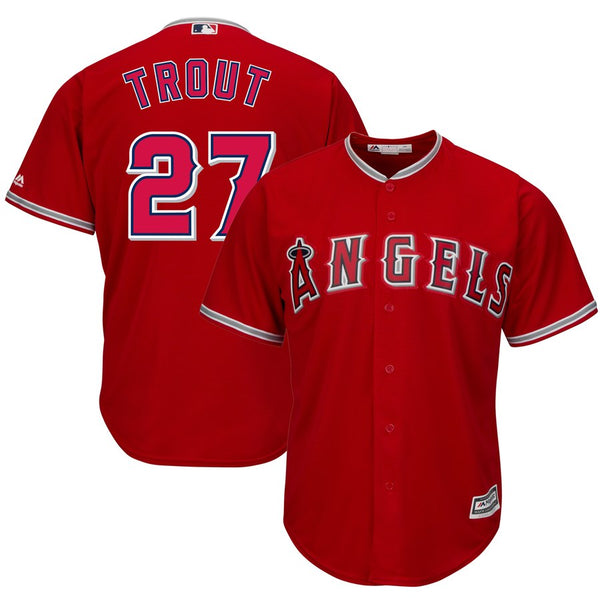 Mike Trout - Los Angeles Angels - Cool Base Player MLB Jersey