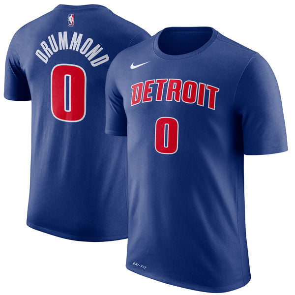 Andre Drummond - Detroit Pistons - Performance Player T-Shirt - Jersey Kings Sydney