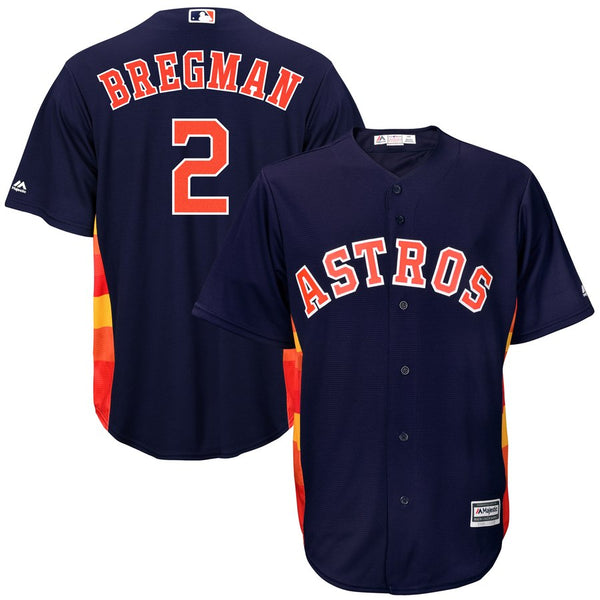Alex Bregman - Houston Astros - Cool Base Player MLB Jersey - Jersey Kings Sydney