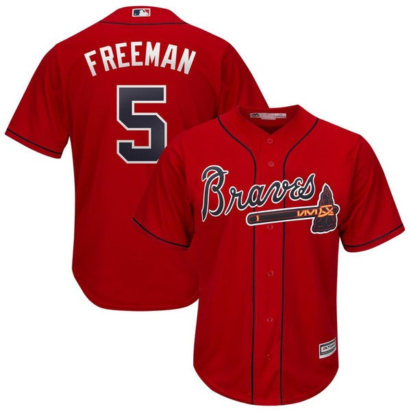 Freddie Freeman - Atlanta Braves - Cool Base Player MLB Jersey