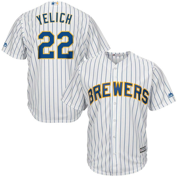 Christian Yelich - Milwaukee Brewers - Cool Base Player MLB Jersey - Jersey Kings Sydney