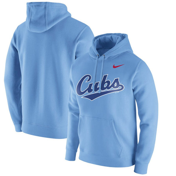 Chicago Cubs - Nike Team MLB Hoodie (Light Blue) - Jersey Kings Sydney
