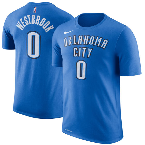 Russell Westbrook - Oklahoma City Thunder - Performance Player T-Shirt