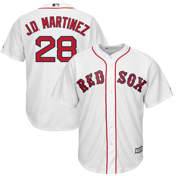 sports shoes 57254 d31f5 JD Martinez - Boston Red Sox - Cool Base Player MLB Jersey