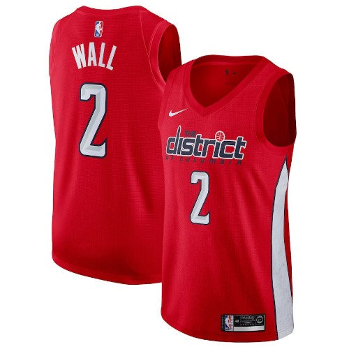 John Wall - Washington Wizards - 2018/19 Earned Edition Swingman Jersey - SALE