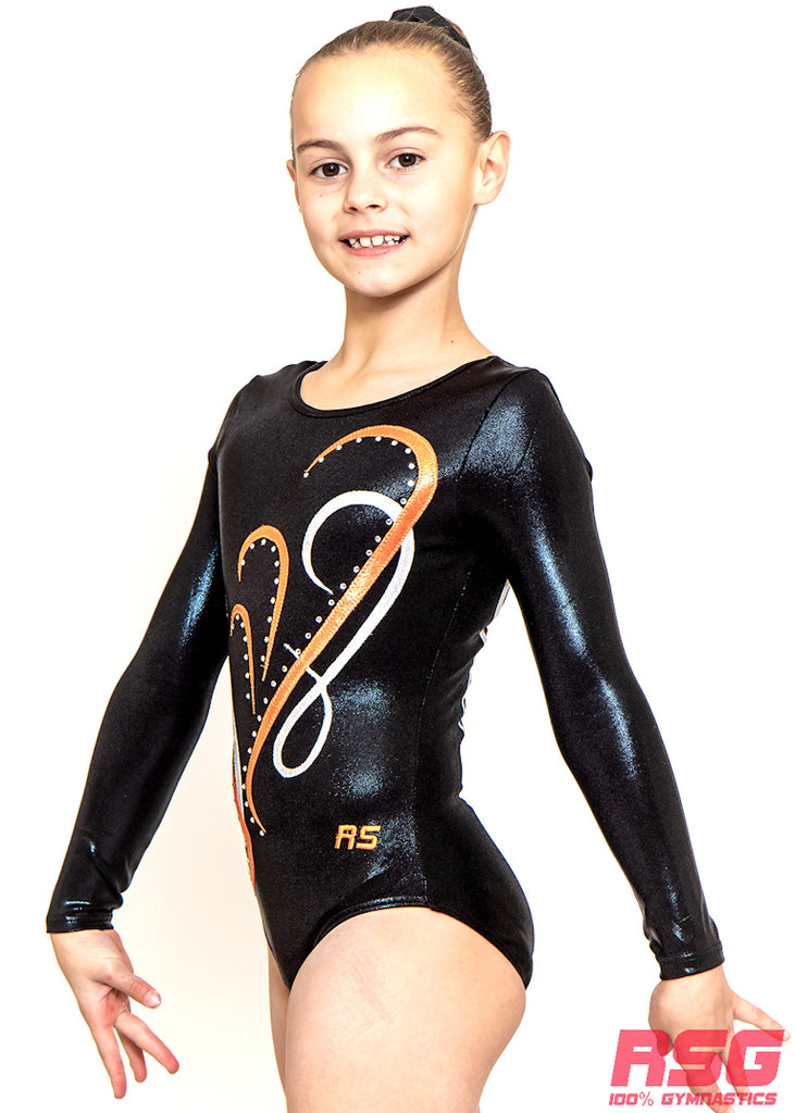 RSG-500 Long-Sleeve leotard - FDLC Competition Leotard