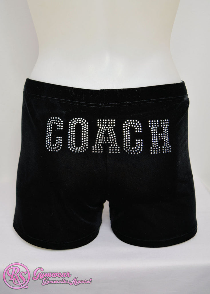 Shorts Black Velvet - RSG-049 - 'COACH'