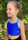 RS Gymwear Australia, RSG-320 Sunny Blue Crop Top