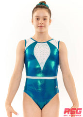 "RS Gymwear, Sleeveless Leotards, ""Wonder"" Seaweed, RSG-449 Australia"