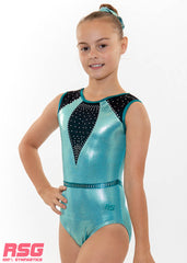 "RS Gymwear, Sleeveless Leotards, ""Wonder"" Mint, RSG-453 Australia"