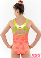 RS Gymwear Australia, Neon Power sleeveless leotard, RSG-456