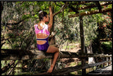 RSG-463 Sleeveless Leotard Tali Purple, RS Gymwear, Leotards Australia