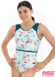 RS Gymwear Australia. RSG-479 Hannah Leotard. Dance Leotard. Gymnastics Leotard.