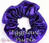 RS Gymwear Australia Scrunchies - Eggplant Purple