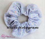RS Gymwear Australia Scrunchies - White Hologram
