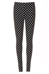 Snowy Night Fleece Leggings