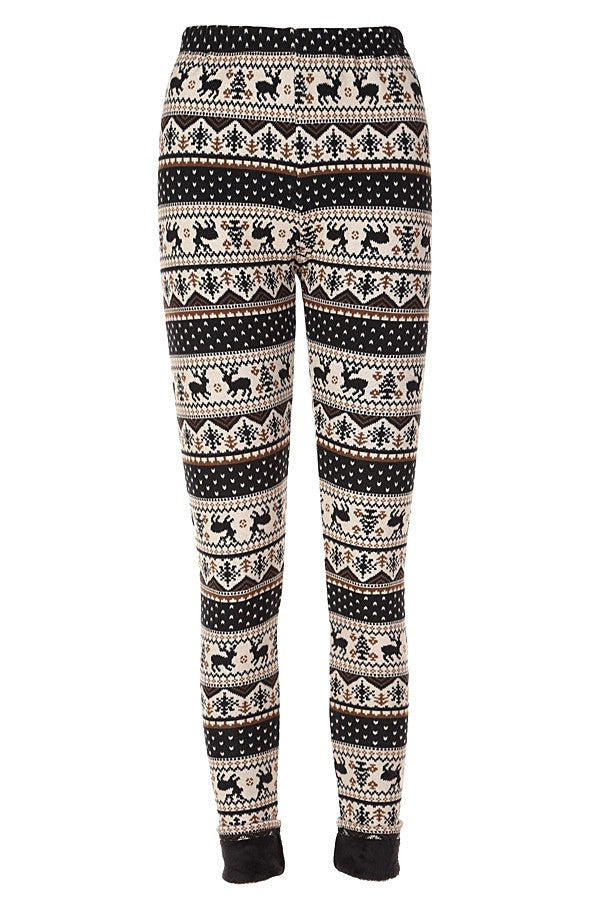 Tis the Season Fleece Leggings