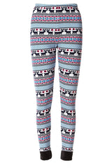 Mr Murphy Moose Fleece Leggings