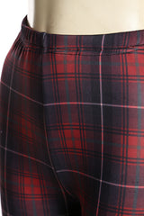 Tartan Fleece Leggings