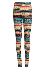 Tribal Inspiration - Fusion Cultured Fleece Leggings