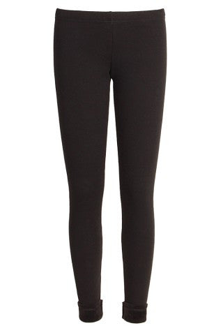 Back to Black Fleece Leggings