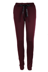 Maroon Fleece Sweatpants