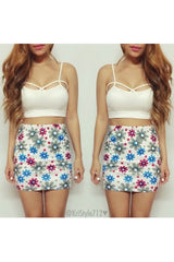 Fiore Fiore Mini Skirt