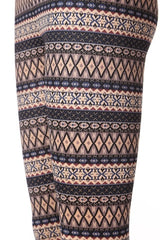 Warm Mochacino Fleece Leggings