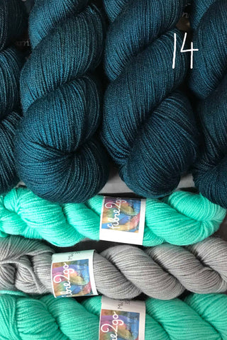 PRIMO 4ply  Floozy Kit 14