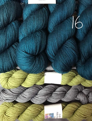 PRIMO 4ply  Floozy Kit 16