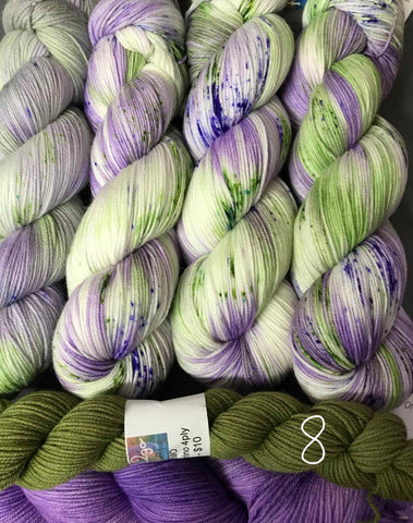 PRIMO 4ply  Floozy Kit 8