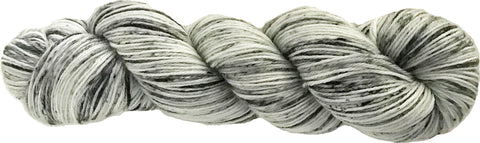 ALLEGRO 4 ply Sock Yarn - white, black, grey speckled