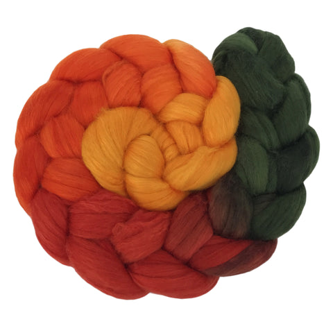 Fine Merino and Silk - Autumn Gradient C