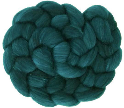 Merino and Silk Sliver  - Teal