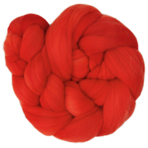 Fine Merino Sliver - Autumn Red