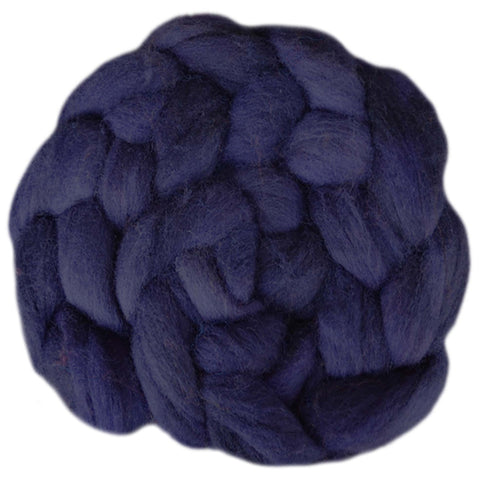 Fine Merino Sliver - Deep Purple