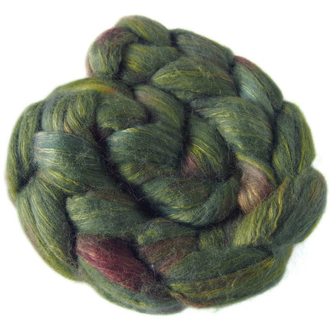 Merino and Silk Sliver  - Gone Bush