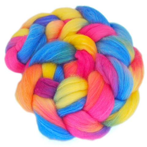 Merino and Silk Sliver  - Jellybeans