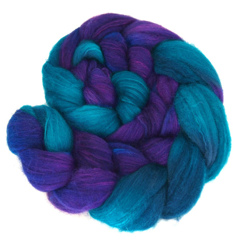 Merino and Silk Sliver  - Morning Glory