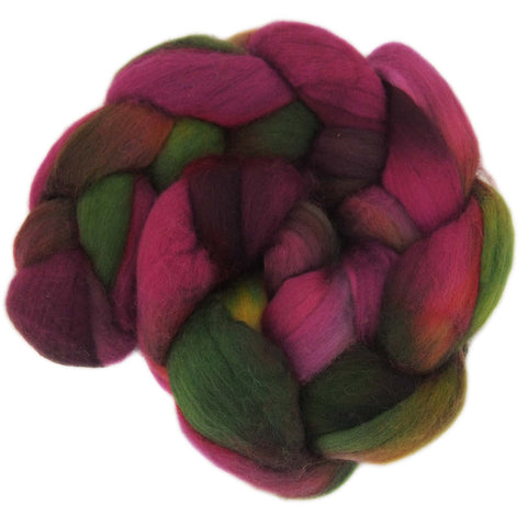 Fine Merino Sliver - Red Delicious