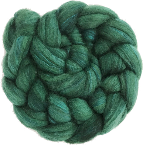 Merino and Silk Sliver  - Tui Green