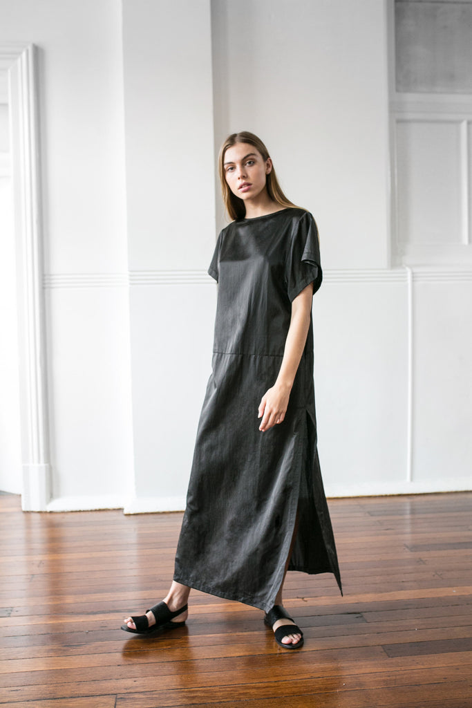 MOONDANCE SILK MAXI - Black