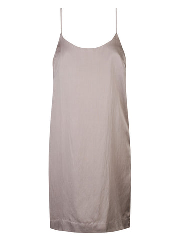 DJANGO BACKLESS SILK SLIP - Dusk
